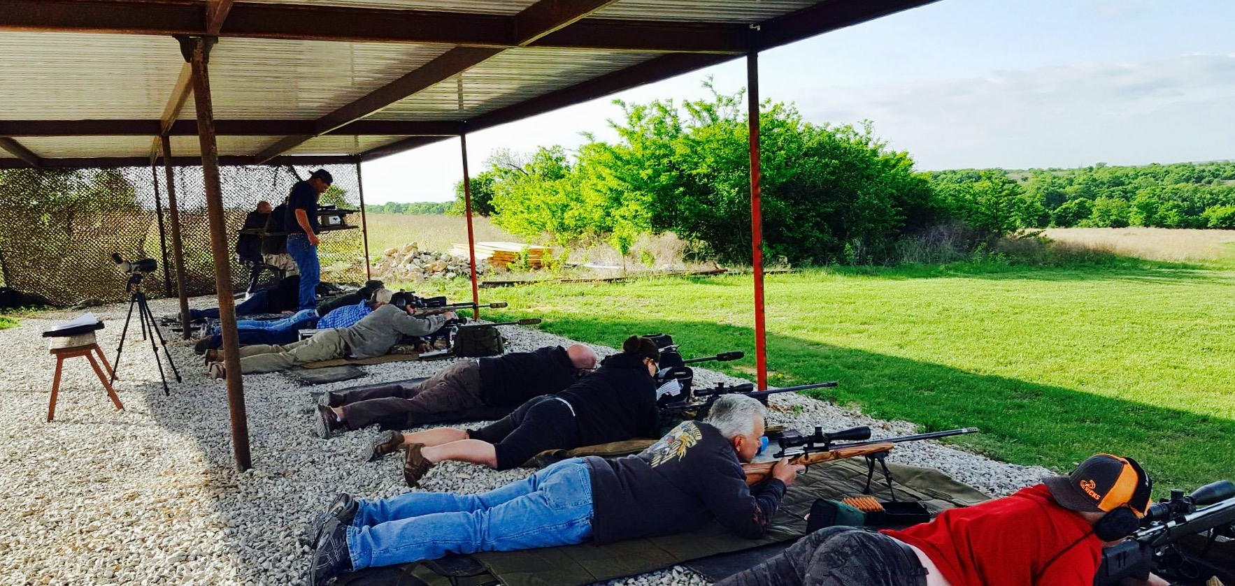 Long Range Shooting Range Long Distance Precision Shooting Dallas Fort Worth